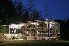 Storage Barn, Gray Organschi.  Great modern take on the traditional utility of the barn architype.