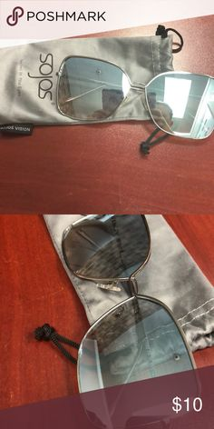 e8d0635885 Sojos sunglasses Brand new. Bought but didn t like them. Blue mirror tent