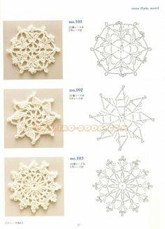 Motif & edging designs - eiko.nanami - Álbumes web de Picasa