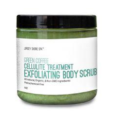 Green Coffee Cellulite Treatment  Exfoliating Body Scrub | Jersey Shore Cosmetics