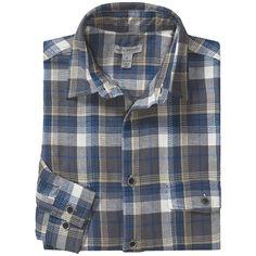 Martin Gordon Two-Pocket Plaid Shirt - Long Sleeve (For Men) in Navy/Slate