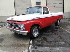 1962 Ford F-100 Truck mmmmmhmmm! That's a sexy truck.