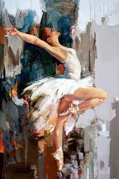 Best Canvas Painting Ideas for Beginners – ,, # ideas - Art Photography Creative Art Ballet, Ballet Painting, Dance Paintings, Figure Painting, Oil Paintings, Ballet Dancers, Acrilic Paintings, Paintings Famous, Portrait Paintings