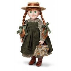 """MapleLea Dolls - Anne of Green Gables OUTFIT ONLY (will fill 18"""" dolls)"""