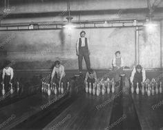 Click HERE to see my other auctions Pinboys Working In Subway Bowling Alley 1910 Vintage 8x10 Reprint Of Old Photo Pinboys Working In Subway Bowling Alley 1910 Vintage 8x10 Reprint Of Old Photo This i