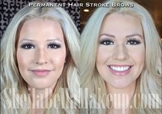 Thanks to Micro Hair Stroke Technology our semi-permanent makeup looks so natura. Eyebrow Embroidery, Semi Permanent Makeup, Natural Makeup, Natural Hair, Insta Makeup, Makeup Junkie, Eyebrows, Makeup Looks, Hair Makeup