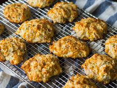 Ham and Cheese Drop Biscuits Horizontal 4