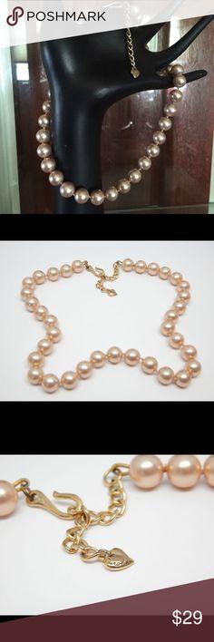 """Designer Carolee designer glass pearls Gorgeous 18"""" glass pearl designer necklace Jewelry Necklaces"""