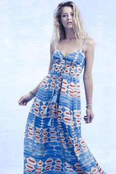 Anthropologie Plenty by Tracy Reese Desert Tortoise Dress/Maxi; $248;new small #PlentybyTracyReese #Maxi