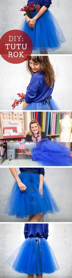 DIY sewing in the spring! Binnenkort een feestje of wil je zomaar een toffe tutu rok naaien? Maak het zelf!