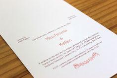 Convite de Casamento Faça Você Mesmo DIY | http://blogdamariafernanda.com/convite-de-casamento-faca-voce-mesmo-diy