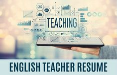 Professional english teacher resume example highlights your skills as an educator and helps you develop your own job-winning resume. Easy-to-adapt resume format. Teaching Interview Questions, Teacher Job Interview, Teacher Interviews, Teacher Cover Letter Example, Teacher Introduction Letter, Teaching Resume, Teaching Jobs, Teacher Resume Template, Teacher Resumes