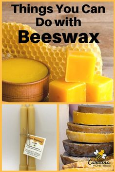 10 Awesome Uses for Beeswax. Every home needs a bar of beeswax - find out why! Beeswax Recipes, Raising Bees, Backyard Beekeeping, Bee Farm, Bee Friendly, Bee Crafts, Beeswax Candles, Home Made Soap, Bee Keeping