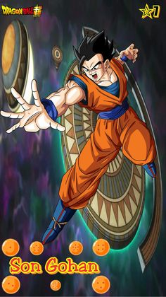 Son Gohan- Team Universe 7. Dragon ball super