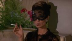 Audrey in How To Steal A Million 1966 / Lace Face Veil