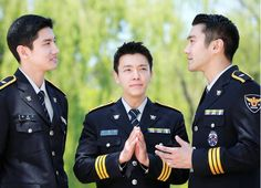 "TVXQ's Changmin, Super Junior's Choi Siwon, And Donghae Look Dashing In Uniform - ""Seoul Metropolitan Police Special Promotions Unit Insta-Trio."""