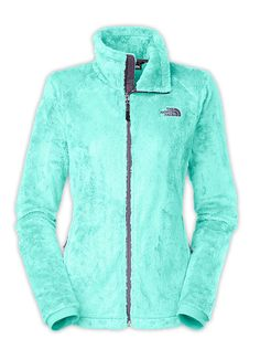 W Osito 2 Jacket in Mint Blue by The North Face