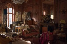 The Danish Girl Movie Set Starring Eddie Redmayne and Alicia Vikander Photos   Architectural Digest