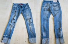 Как сделать рваные джинсы - пошаговые фото и видео. Рваные джинсы своими руками в домашних условиях