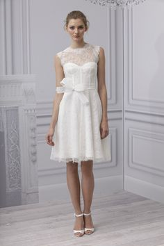 reception dress maybe?  Monique Lhuillier spring 2013