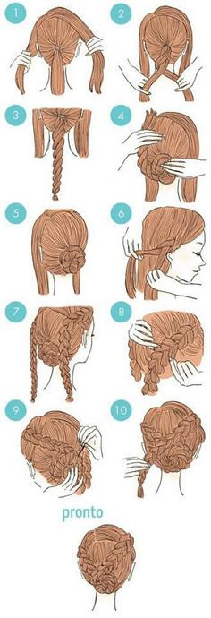 Imagen de hair, hairstyle, and diy