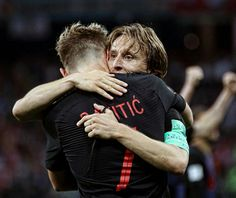 Eric Dier heaped praise on Croatia duo Ivan Rakitic and Luka Modric, warning that England must contain them if they are to book a first World Cup final spot in 52 years. First World Cup, World Cup Final, Best Football Players, National Football Teams, Sport Football, Ivan Rakitic, Soccer World Cup 2018, Real Madrid And Barcelona, Soccer Gifs