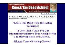 Knock 'Em Dead Acting Technique E-book | Surferchest Directory of Internet Deals