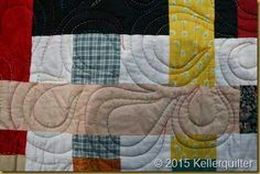 Detail - Quilting Simply Woven von QF Ratamaa