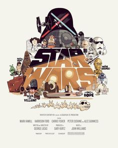Star Wars' Poster by Christopher Lee
