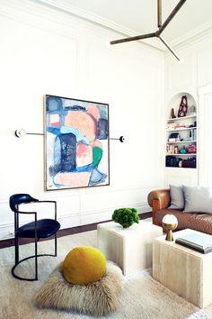 Tour the Modernist Home of Apparatus Studio's Designers via @MyDomaine