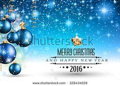 Christmas 2016 Stock Vectors & Vector Clip Art | Shutterstock