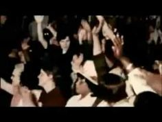 SHADOW PEOPLE APPEAR IN JIM JONES FOOTAGE! At about 36 seconds, there appear to be 2 shadow people with glowing yellow eyes in the crowd.  I have watched this many times and i still find it chilling.