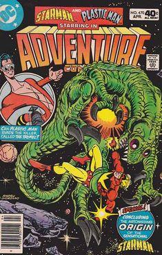 Adventure Comics Rare Comic Books, Online Comic Books, Comic Books For Sale, Comics For Sale, Comic Book Covers, Nightwing And Starfire, Plastic Man, Classic Comics, American Comics