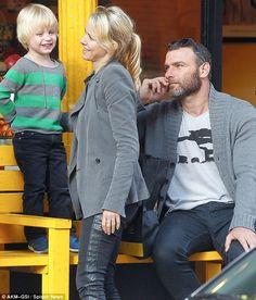 Naomi Watts and long-term partner Liev Schreiber