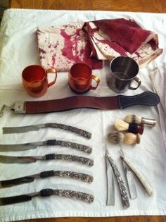 Image result for sweeney todd props