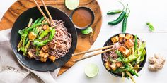 Miso Soba Noodles with Charred Shishito Peppers & Summer Beans