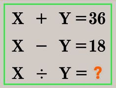 Genius can solve the math tricky puzzle Puzzles, Math, Puzzle, Math Resources, Mathematics
