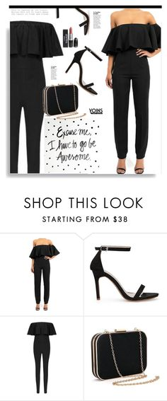 """""""Yoins.com nº13: Excuse me, I have to go be AWESOME."""" by hamaly ❤ liked on Polyvore"""