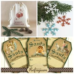 The Picture Garden: Austrian Etsy . is celebrating Christmas in July! Celebrating Christmas, Christmas In July, Beaded Ornaments, Seed Beads, Snowflakes, Seasons, Celebrities, Garden, Etsy