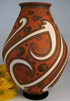 Mata Ortiz Pottery Tavo Silveira Ceramics Best in Show Award Artist Fine Art