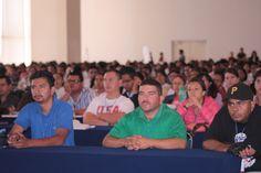 Así lució el salón principal del Centro de Convenciones San Luis Potosí.