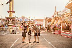 A Fairly Wonderful Evening :: {Washington Clark County Fair Family Photographer}