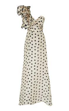 Valley Of The Kings Silk Organza Dress by JOHANNA ORTIZ Now Available on Moda Operandi