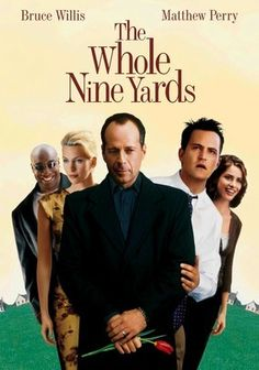 The Whole Nine Yards is a comedy about Matthew Perry's character thinking that his neighbor, played by Bruce Willis, is a mob boss. Of course he is right and the funny moments follows. Michael Clarke Duncan, Natasha Henstridge, Amanda Peet and Kevin Pollak co-star and it's actually not a bad comedy as the actors have very good comedic timing and the ensemble works well together.