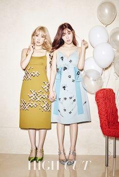 Taeyeon & Tiffany // High Cut