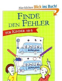 Finde den Fehler. Für Kinder ab 6: Amazon.de: Yayo Kawamura: Bücher