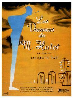 Les vacances de Monsieur Hulot (1953) - Jacques Tati