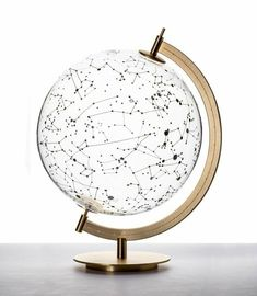 Room inspiration COEXIST - Glass globe Body Jewelry Article Body: From the ancient period, the conce My New Room, My Room, Milan Design, White Aesthetic, Athena Aesthetic, Aesthetic Space, Home And Deco, Glass Globe, Home Accessories