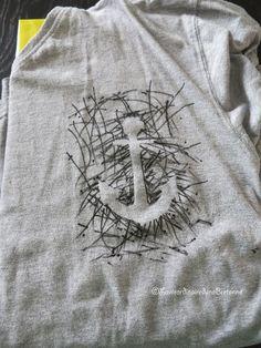 La vie ordinaire d'une bretonne: [Activité] Customiser un tee shirt {Idée cadeau fête des pères}