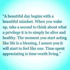 A beautiful day....
